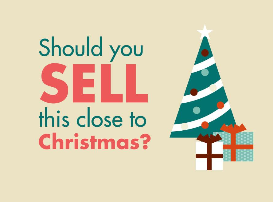 Should you sell your property over Christmas?