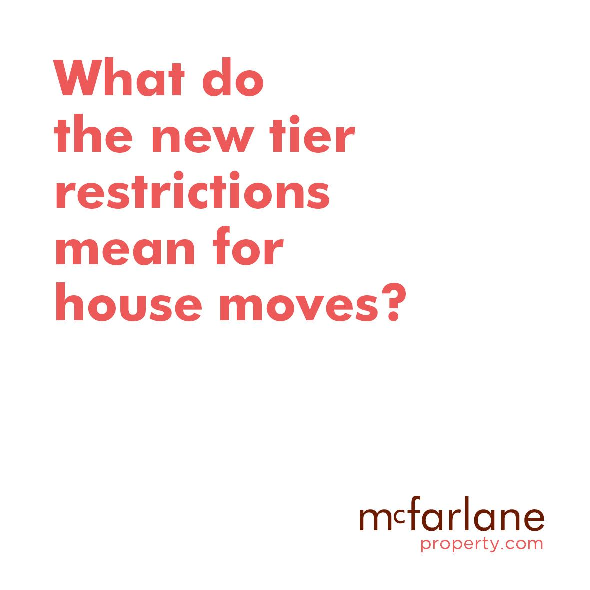 What do the new tier restrictions mean for house moves?